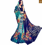 RAVISHING DESIGNER PRINTED PATTERN SARI RTMLD1509A BY BLUE