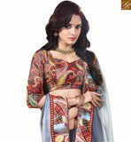 BROUGHT TO YOU BY STYLISH BAZAAR CHARMING CAUSAL WEAR SARI BLOUSE DESIGN RTDIL15115