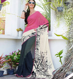 STUNNING GEORGETTE PRINTED SAREE RTS31530A - STYLISHBAZAAR - buy sarees online, buy online sarees, indian sarees buy online, buy sarees online india, saree buy online, indian saree buy online