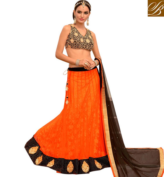 STUNNING FANCY GHAGRA CHOLI FOR MARRIAGE CEREMONY BELOW RS. 5000