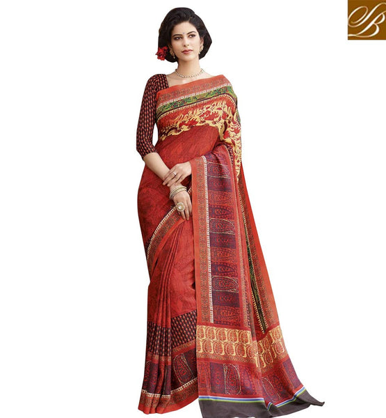 STYLISH BAZAAR SPLENDID DESIGNER SARI FOR SPECIAL EVENTS RTATC15832