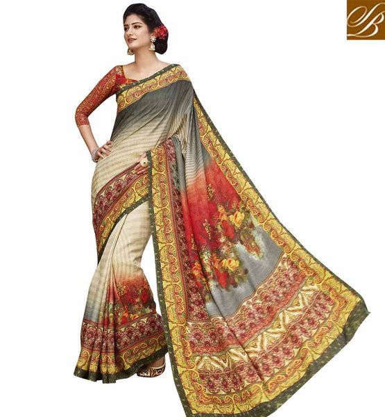 STYLISH BAZAAR TANTALIZING SARI ONLINE WOMEN SHOPPING RTATC15836