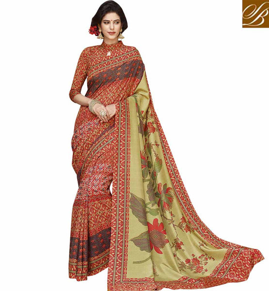 STYLISH BAZAAR WELL FORMED WOMEN SAREE ONLINE SHOPPING RTATC15837