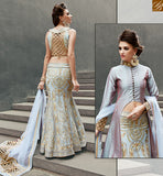 ZOYA CRYSTAL RICH LOOKING WEDDING WEAR DRESS WITH WONDERFUL EMBROIDERY WORK PFCR16007