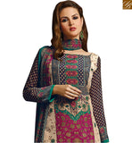 BROUGHT TO YOU BY STYLISH BAZAAR PARTY WEAR STRAIGHT CUT DESIGNER SALWAAR SUIT VDROO1601 A