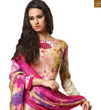 BROUGHT TO YOU BY STYLISH BAZAAR ADORABLE PAKISTANI STYLE FLORAL PRINTED SALWAAR SUIT DESIGN VDROO1606A