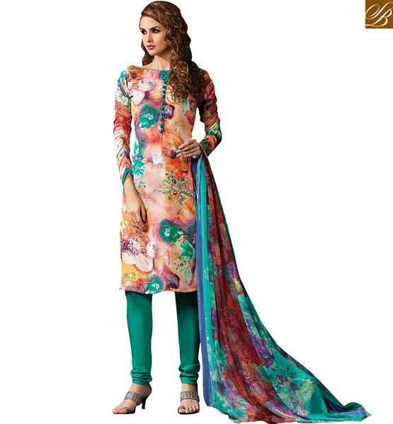 CHARMING STRAIGHT SUIT DESIGNER SALWAR SUIT VDROO1606C