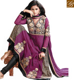 LATEST DESIGN GEORGETTE SALWAR KAMEEZ WITH STONEWORK SHOP ONLINE