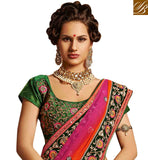 Be at your most beautiful during your wedding or pre  post wedding functions like the sangeet or reception by getting dressed in this everstylish bridal lehenga saree blouse desings