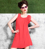 SHOP ONLINE LATEST FASHION FASHIONISTA LINTO GEORGETTE MINI KURTI