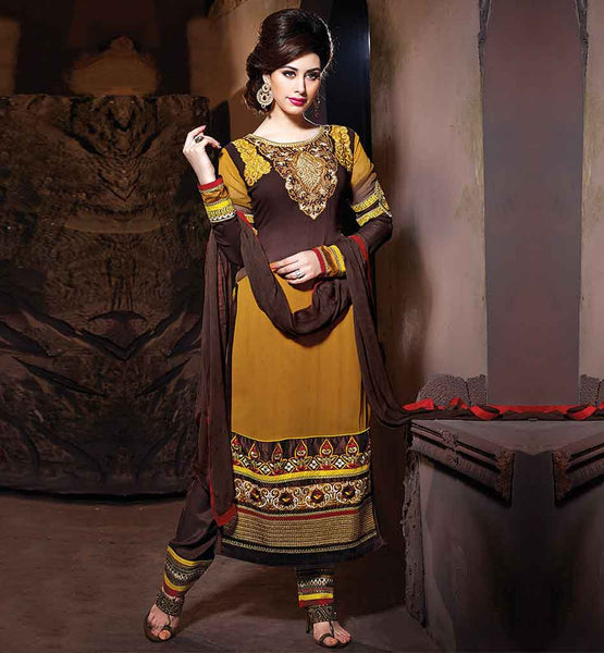 TRENDY SALWAR SUIT ONLINE SHOPPING AT LOW PRICE NEW 2015 DESIGN SALWAR KAMEEZ FOR STYLISH WOMEN WEAR IN BEAUTIFUL EMBROIDERED