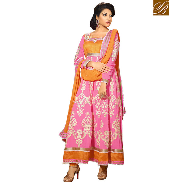 Designer Anarkali dresses at affordable prices