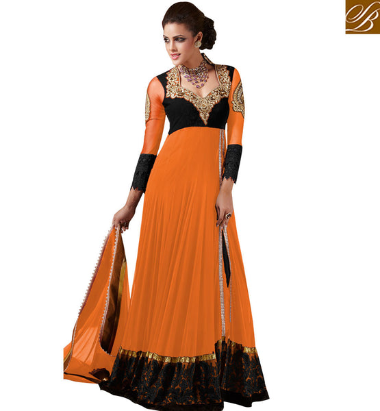 ULTIMATE CHOICE DESIGNER MARRIAGE WEAR ANARKALI DRESS SALWAR KAMEEZ