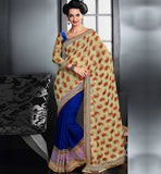 IRRESISTIBLE VISCOSE & NYLON PARTY WEAR SARI RTAU1708 - STYLISHBAZAAR - Party Wear Sarees Online, StylishBazaar Online Sarees, Designer Saris, Designer Sarees, Buy Online Sarees, Buy Sarees Online, Partywear Sarees, Designer Saris Online, Saree Online Shoppping, Saree Designs, Blouse Designs