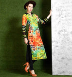 VISUAL TREAT GEORGETTE DIGITAL PRINT LONG KURTI FOR MODERN LADY