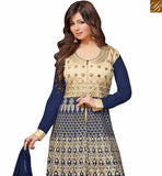 FROM STYLISH BAZAAR BEAUTIFUL AYESHA TAKIA EYE CATCHING BLUE COLORED GEORGETTE EMBROIDERED WORK ANARKALI SALWAR SUIT VDRV17790