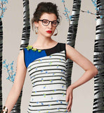 OFF-WHITE DIGITAL PRINTED SUMMER GEORGETTE KURTI