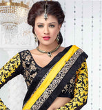 YELLOW & BLACK ANARKALI OR LEHENGA VDFU18002