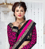 PINK & BLACK ANARKALI OR LEHENGA VDFU18003