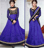 PURPLE & BLACK ANARKALI OR LEHENGA VDFU18005