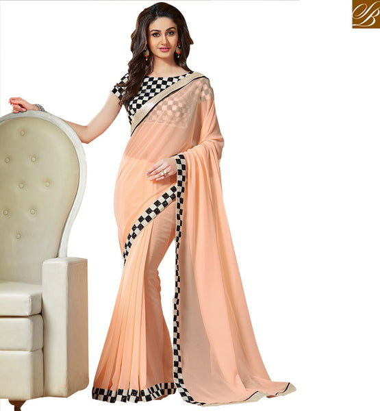 FROM THE HOUSE OF STYLISH BAZAAR EXCELLENTLY DESIGNED PARTY WEAR SARI VAR1802