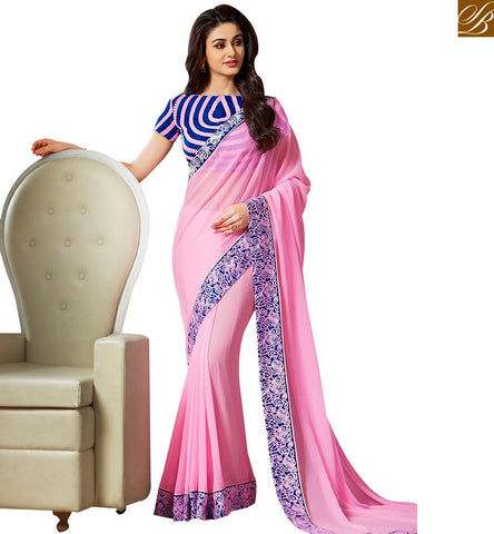 TRENDY DESIGNER PARTY WEAR SARI DESIGN VAR1808