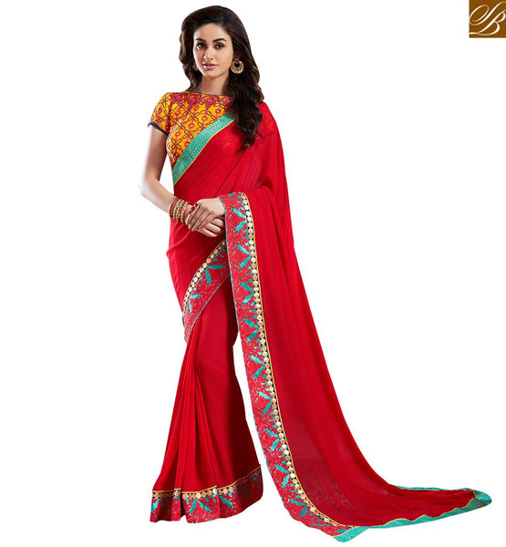 ROYAL DESIGNER PARTY WEAR SAREE DESIGN VAR1810