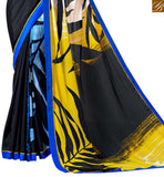 ADMIRABLE PRINTED SARI DESIGN FOR CASUAL WEAR VAR1856BY STYLISH BAZAAR