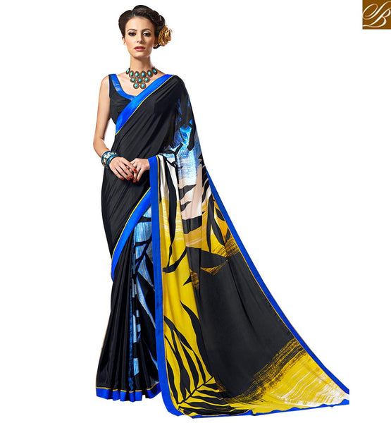 ADMIRABLE PRINTED SARI DESIGN FOR CASUAL WEAR VAR1856
