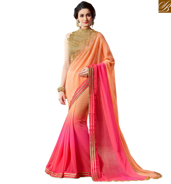 STYLISH BAZAAR CUTE DESIGNER SAREE DESIGN FOR PARTIES VAR1901