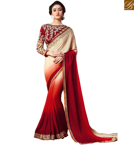 STYLISH BAZAAR DELIGHTFUL SAREE DESIGN CRAFTED FOR PARTIES VAR1903