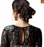 FROM THE HOUSE OF STYLISH BAZAAR ATTRACTIVE SAREE BLOUSE DESIGN FOR SPECIAL OCCASIONS VAR1908