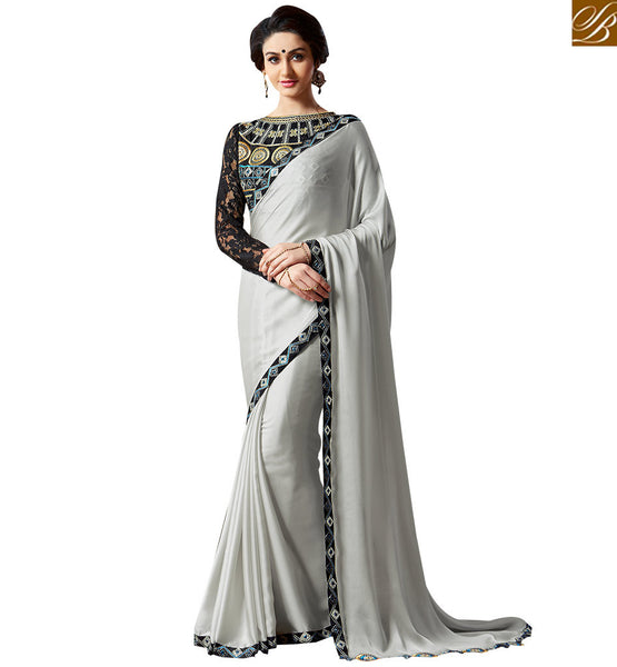 STYLISH BAZAAR ATTRACTIVE SAREE BLOUSE DESIGN FOR SPECIAL OCCASIONS VAR1908