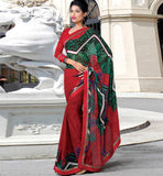 MAJESTIC MAROON CASUAL WEAR SAREE RTKOR190A