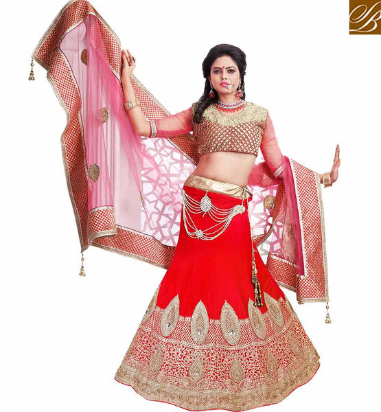 STYLISH BAZAAR WONDERFUL DESIGNER LEHENGA CHOLI DESIGN MCU2191