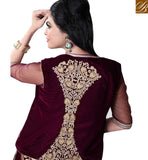 STYLISH BAZAAR PRESENTATION TRENDY JACKET STYLE LEHENGA SAREE MCU2193