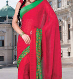 MAROON CASUAL WEAR SAREE RTKOR193A
