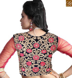FROM THE HOUSE OF STYLISH BAZAAR EXOTIC EMBROIDERED LEHENGA SARI DESIGN MCU2194
