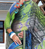 CASUAL WEAR MULTICOLOR SAREE RTKOR198B