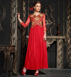 DISCOUNT OFFER ON DESIGNER INDIAN EVENING PARTY WEAR GOWN FOR WOMEN