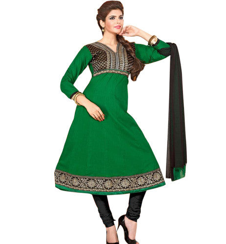 Summer wear designer cotton anarkali suit