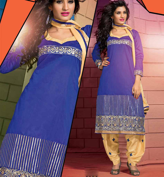 Pure Chanderi Cotton Straight Salwar suit, Shop for Salwar Kameez Online, Worldwide Shipping available,