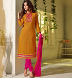 WOMENS OFFICE WEAR SALWAR SUITS ONLINE SHOPPING STRAIGHT STYLE DRESS
