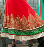 anarkali hemline designs