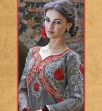GLAMOROUS GREY ANARKALI SALWAR SUIT INZH2001 - stylishbazaar - online shopping for anarkali suits, online shopping for anarkali dress, online shopping of anarkali suits, online shopping anarkali dress, online shopping of anarkali dress