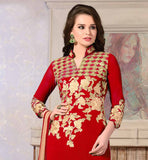 BEAUTIFUL PUNJABI SALWAR KAMEEZ LATEST SUITS DESIGN 2015 FASHION TRENDS IN INDIA