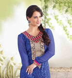 2003 Blue Zubeda Roshni ELLI AVRAM Brasso salwar suit collection