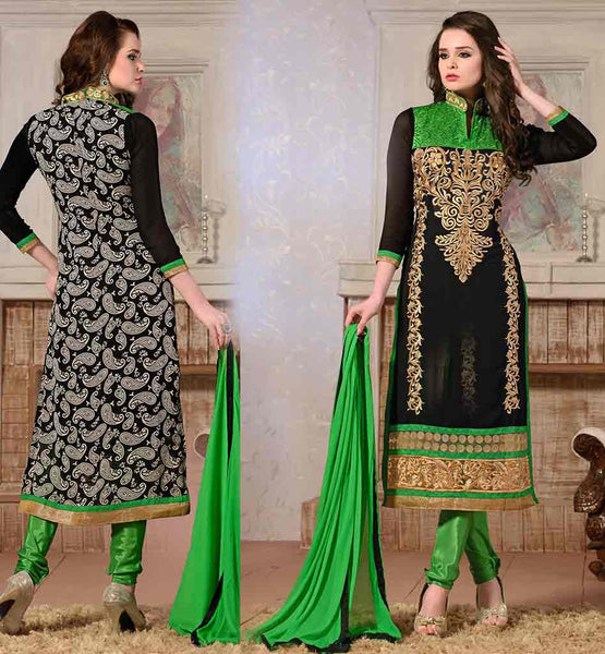 CHUDIDAR DRESS PATTERNS SUIT DESIGNS 2015 STYLISH  STRAIGHT FROCK