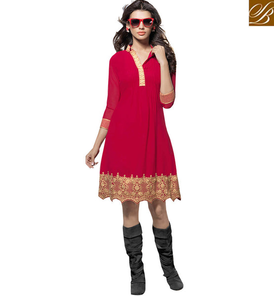 LOVELY UNIQUELY DESIGNED KURTI VDSCH2004