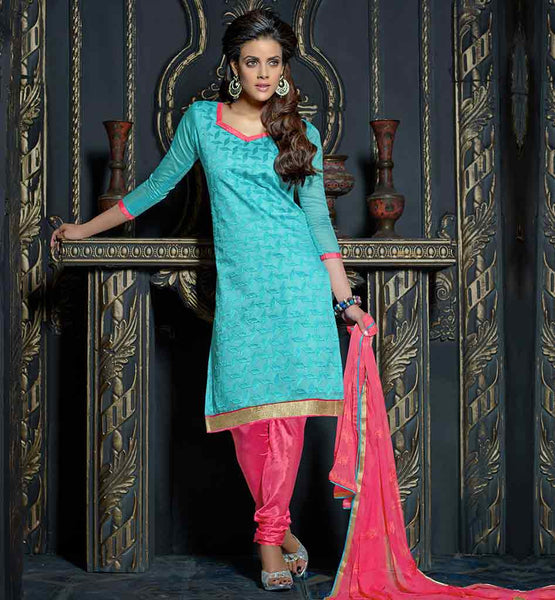 2015 STYLE SIMPLE STYLISH SALWAR KAMEEZ SUITS WITH NAZNEEN DUPATTA